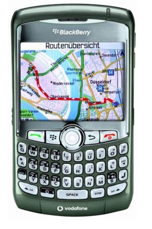 Blackberry 8310 Curve silver