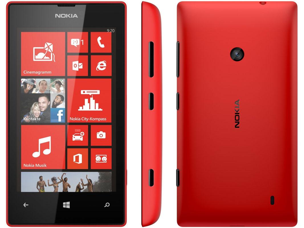 Nokia Lumia 520 rot