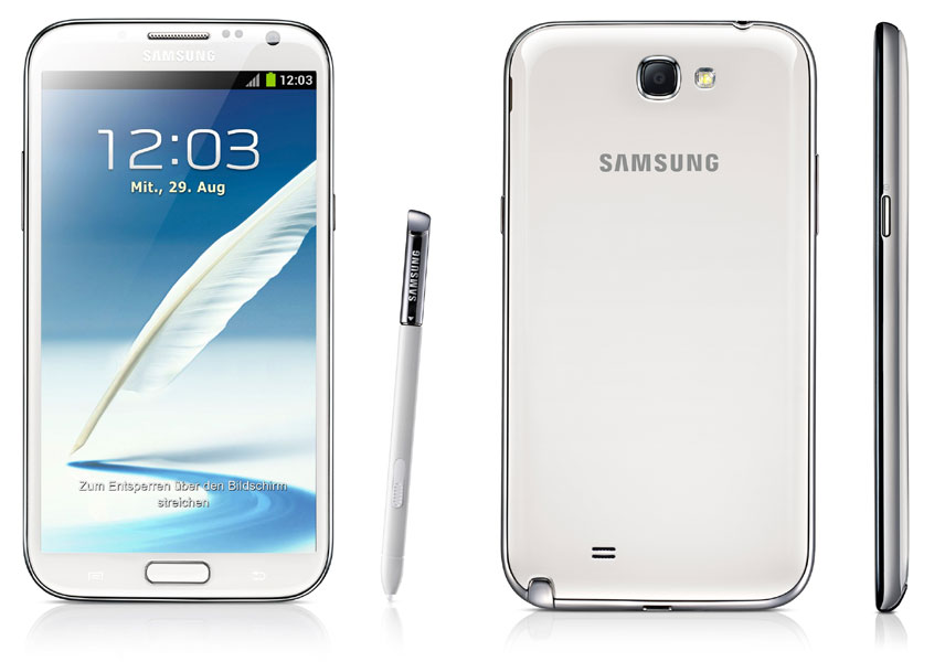 Samsung galaxy note 2 online shopping