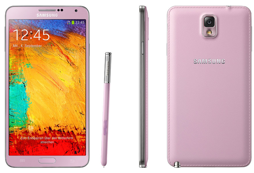 Samsung Galaxy Note 3 rosa
