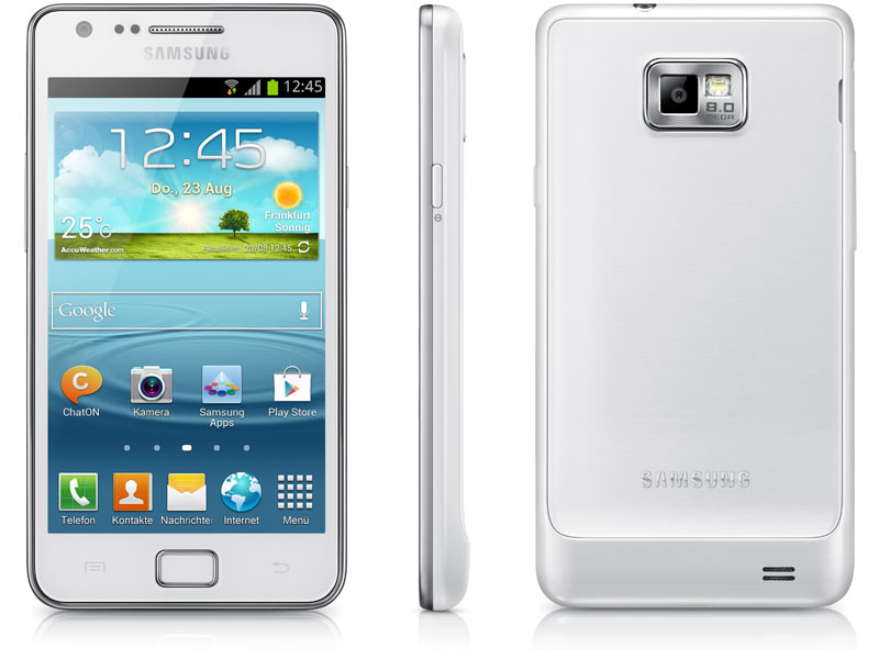Samsung Galaxy S2 Plus white
