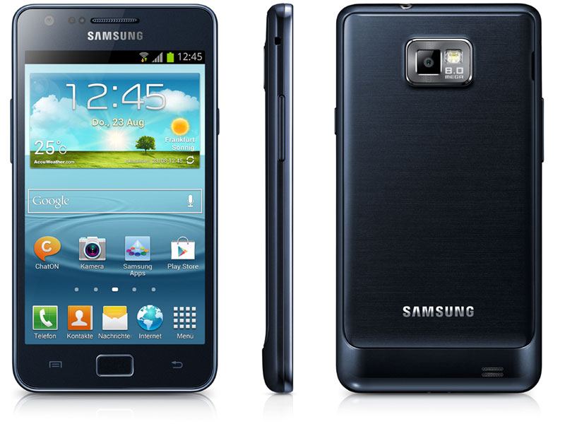 Samsung Galaxy S2 Plus black