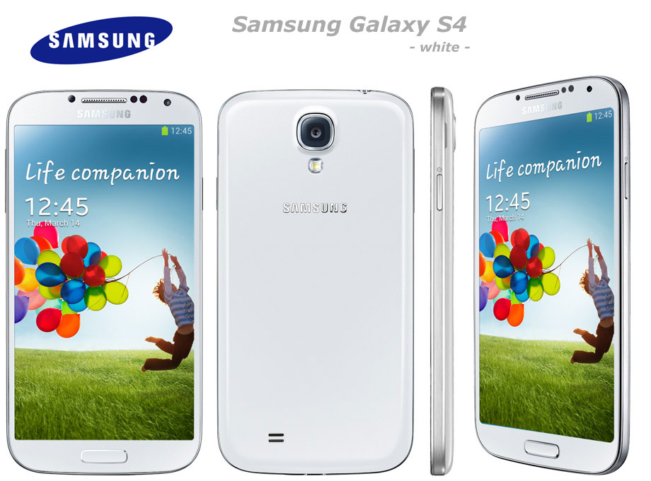 Samsung Galaxy S4 white-frost