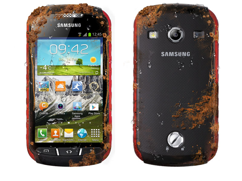 Samsung Galaxy Xcover 2 red-black