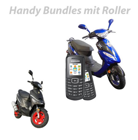 Handy Bundle mit Motorroller